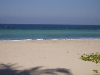 Litibu Beach directly in front of Quinta Christileen, a luxury vacation rental in Punta Mita, Mexico