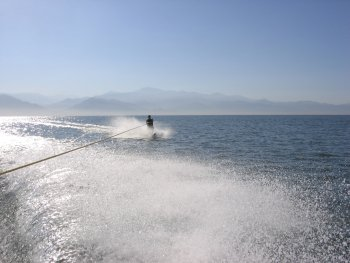 Waterskiing in Puerto Vallarta