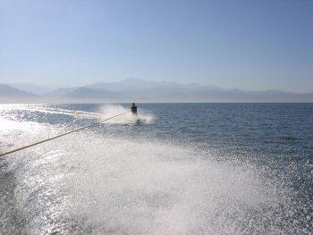 Waterskiing in Puerto Vallarta